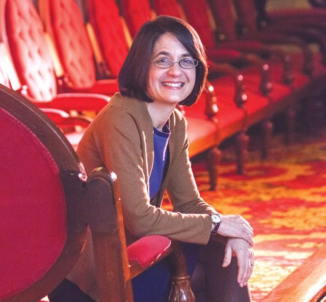 Senate Majority Leader Becca Balint - MATTHEW THORSEN