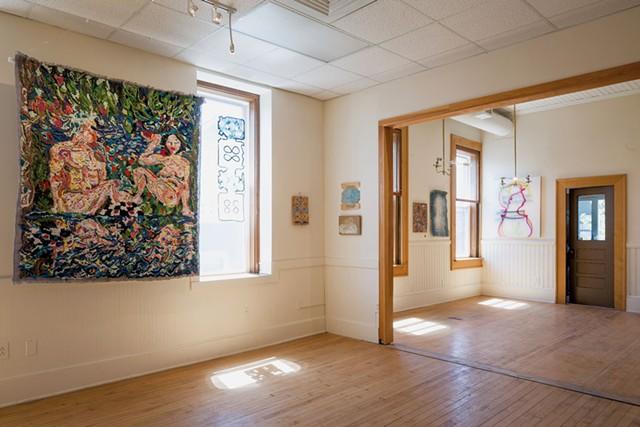 """""""Optimist Prime"""" gallery view - FILE : OLIVER PARINI"""