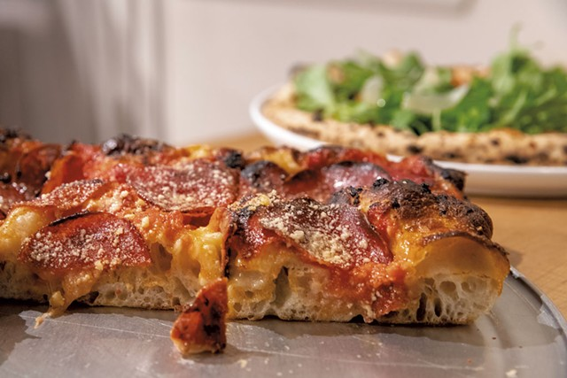 Pepperoni square pie at Pizzeria Ida - FILE: JAMES BUCK