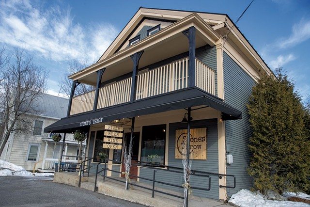 Stone's Throw Pizza in Fairfax - JAMES BUCK