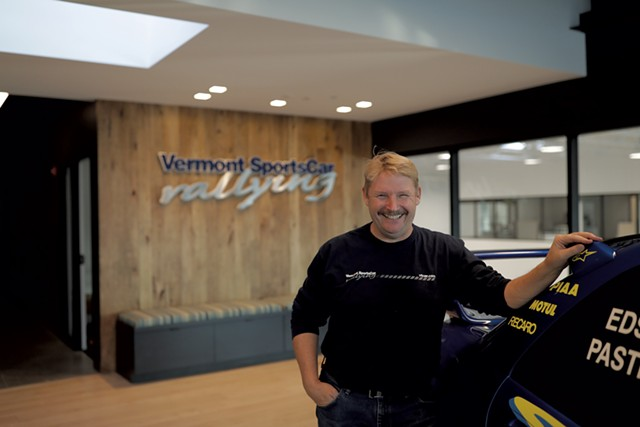 Founder and president Lance Smith - COURTESY OF VERMONT SPORTSCAR AND SUBARU RALLY TEAM USA
