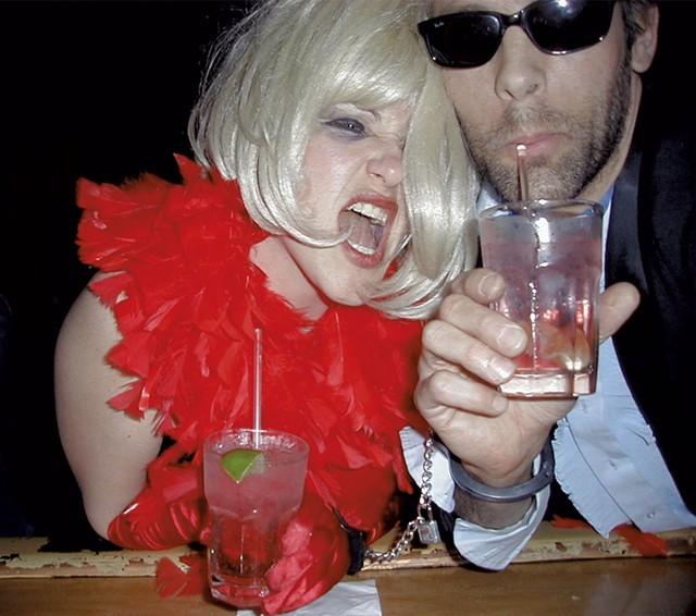 Reverend Blonde (aka Diane Sullivan) and Matt - MATTHEW THORSEN