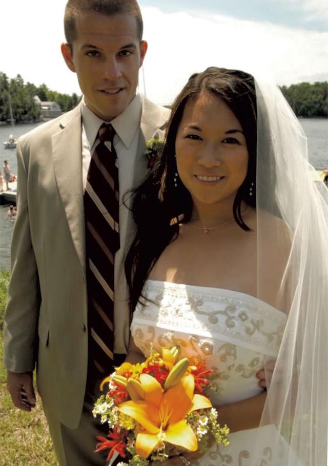 James and Rebecca Haslam - MATTHEW THORSEN