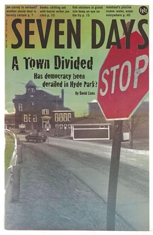 Seven Days cover, April 14, 1999 - MATTHEW THORSEN