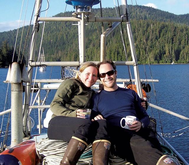 Maria and Lynn Steyaart in Alaska - COURTESY OF HONEYWILYA FISH
