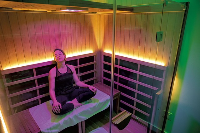 The infrared sauna - JAMES BUCK