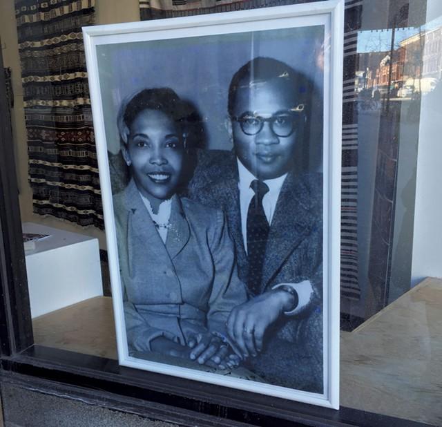 Photograph of Jack and Lydia Clemmons, circa 1953 - RACHEL ELIZABETH JONES