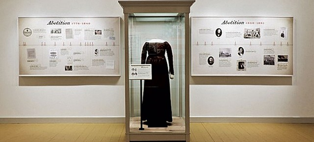 Exhibition image at the Rokeby Museum - COURTESY OF VERMONT FOLKLIFE CENTER