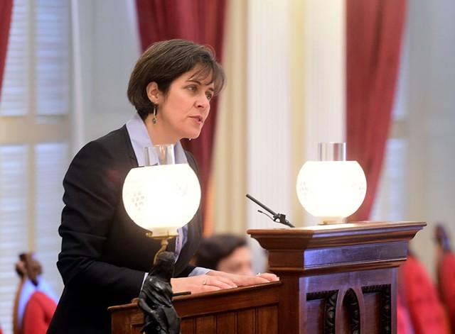 House Speaker Mitzi Johnson - JEB WALLACE-BRODEUR