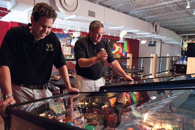 Tilt Classic Arcade and Ale House in South Burlington - MATTHEW THORSEN