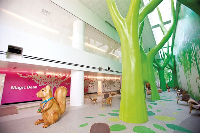 The Magic Forest at the Nationwide Children's Hospital - PHOTOS COURTESY OF NATIONWIDE CHILDREN'S HOSPITAL