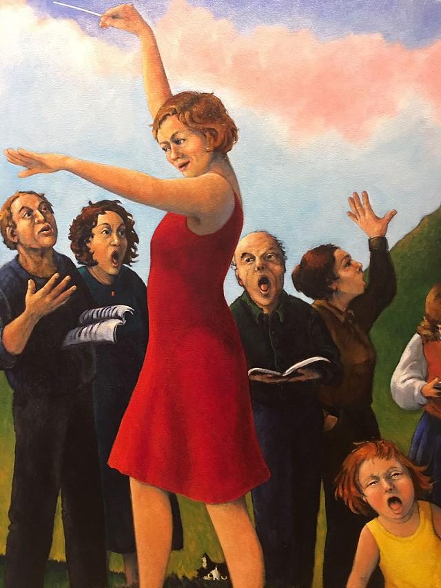 """""""Pulling My Selves Together,"""" detail - PAMELA POLSTON"""