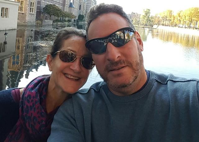 Kim Kaufman and Jimmy Goldsmith - COURTESY PHOTO