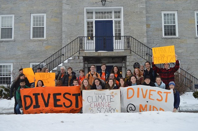 COURTESY OF DIVEST MIDDLEBURY