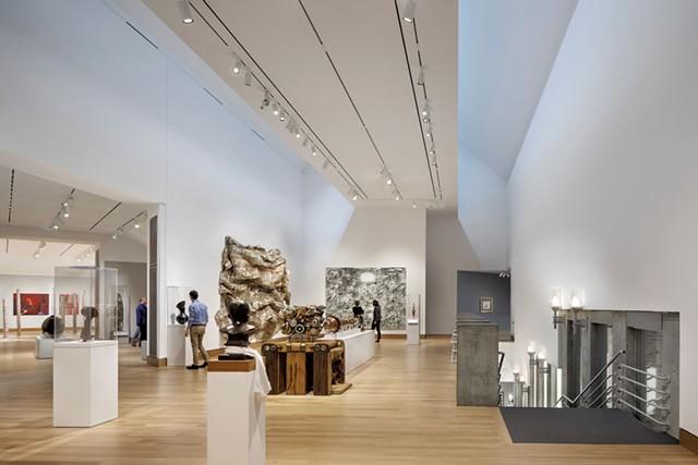 Second-floor gallery - COURTESY OF THE HOOD MUSEUM OF ART/MICHAEL MORAN