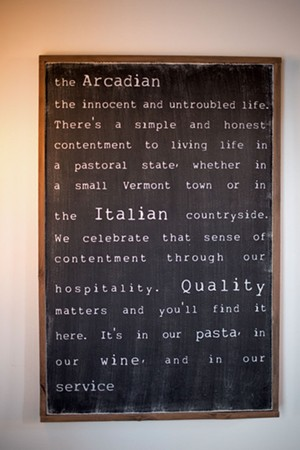 The Arcadian in Middlebury - CALEB KENNA