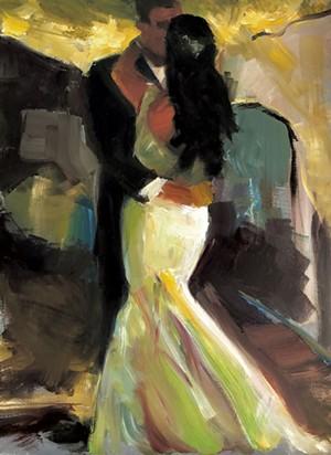 Hope Sharp wedding painting - COURTESY OF HOPE SHARP