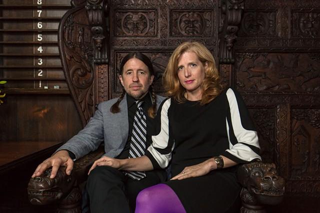 Eric Olsen and Amanda Gustafson - COURTESY OF ISAAC WASUCK