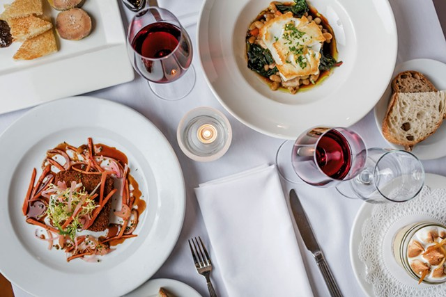 An array of dishes at Bistro de Margot - FILE: OLIVER PARINI