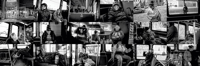 """""""The Bus"""" by Bob Van Degna - COURTESY OF ALLEY GALLERY"""