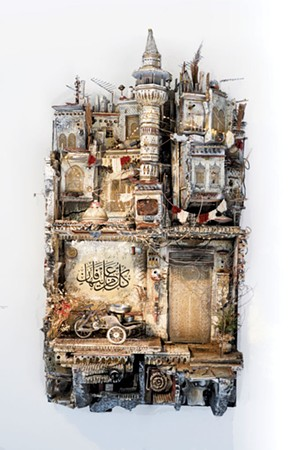 'Hiraeth' by Mohamad Hafez - COURTESY OF THE FLEMING MUSEUM