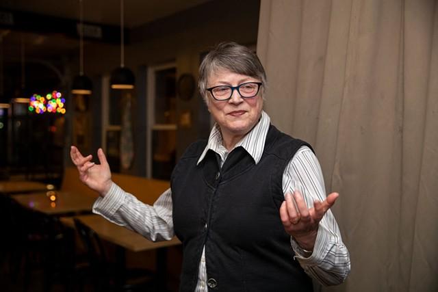 Jane Knodell - JAMES BUCK