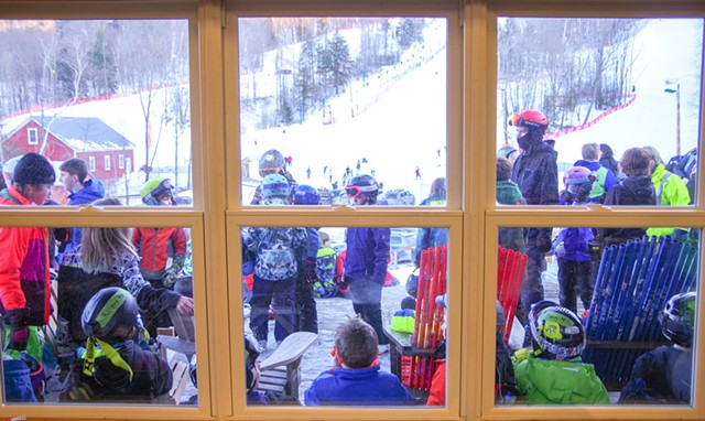 The new view from inside the Cochran's Ski Area lodge - STEPHEN MEASE