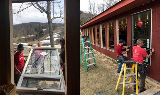 The renovation process, parts 2 & 3