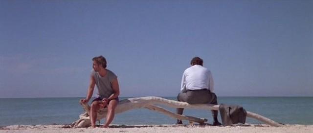 William Petersen and Dennis Farina in Manhunter. - DE LAURENTIIS ENTERTAINMENT GROUP