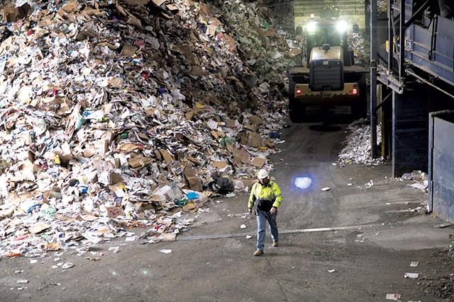 Casella  recycling facility in Rutland - CALEB KENNA