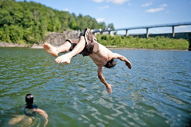 Diving into Vermont's waters - MONICA DONOVAN
