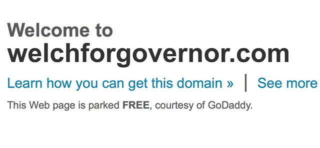 welchforgovernor.com - SCREENSHOT