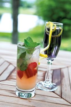 Caspian Lemonade and Violette Sky - JAMES BUCK