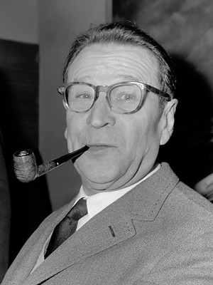 Georges Simenon in 1965 - COURTESY OF WIKIMEDIA COMMONS