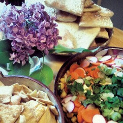 Food at Hel's Kitchen - COURTESY OF HELEN LABUN JORDAN