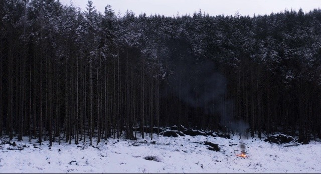 A beautiful, tragic landscape in Under the Skin - CANAL+
