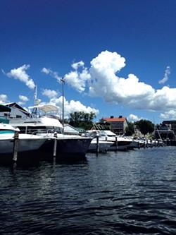 Boats on Burlington Bay - MOLLY WALSH