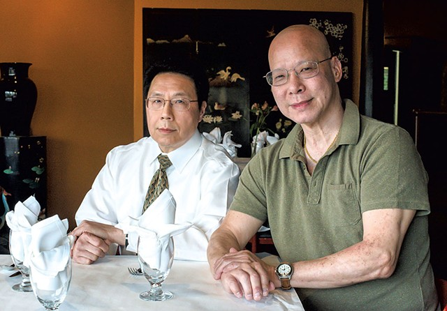 Eddie Lee (left) and Ting Ng - GLENN RUSSELL