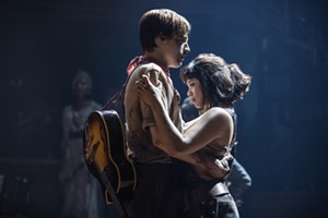 Reeve Carney and Eva Noblezada in 'Hadestown' - MATTHEW MURPHY