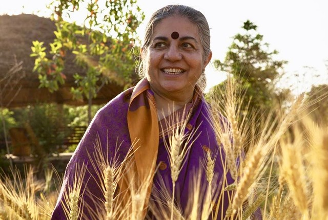 Vandana Shiva - COURTESY PHOTO