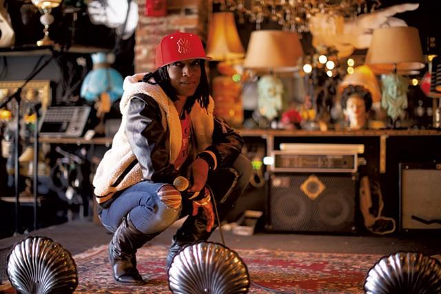 Omega Jade at the Light Club Lamp Shop - LUKE AWTRY