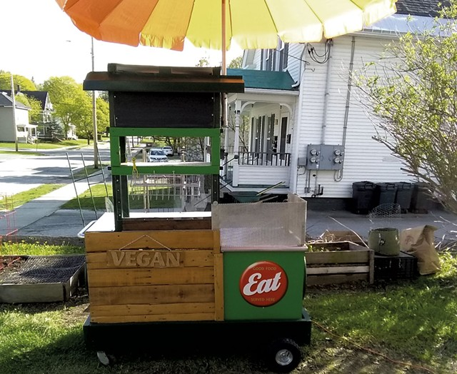 Little Green Wagon - COURTESY OF VEGAN2U
