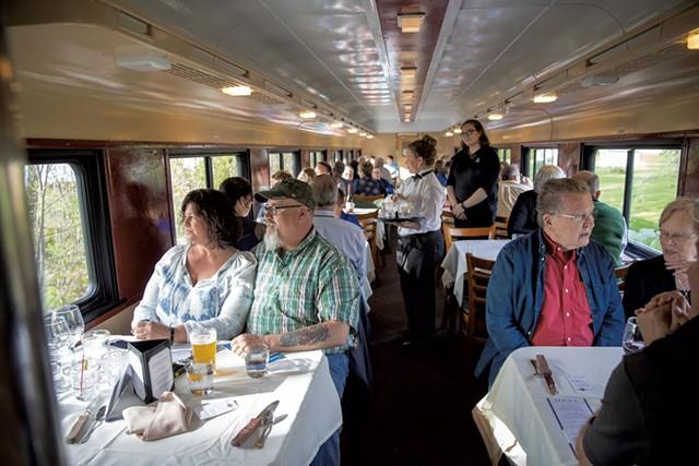 The Champlain Valley Dinner Train - EVA SOLLBERGER, JAMES BUCK