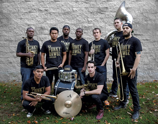 Funky Dawgz Brass Band - COURTESY PHOTO
