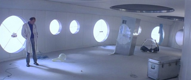 Meticulous composition in Solaris - MOSFILM