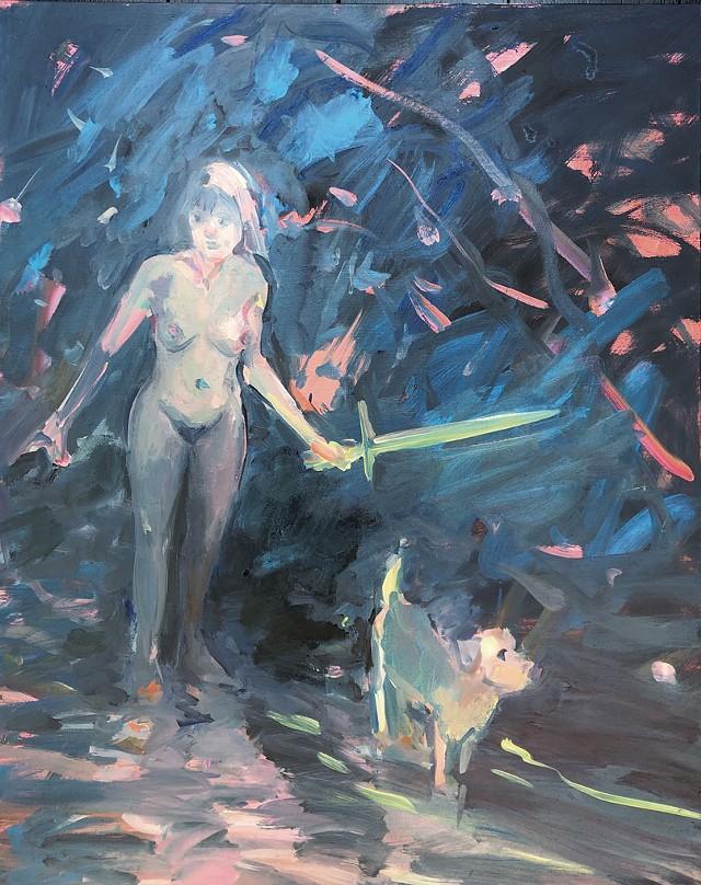 """Avenger"" by Deborah Brown - COURTESY OF JUNE ANDERSON"