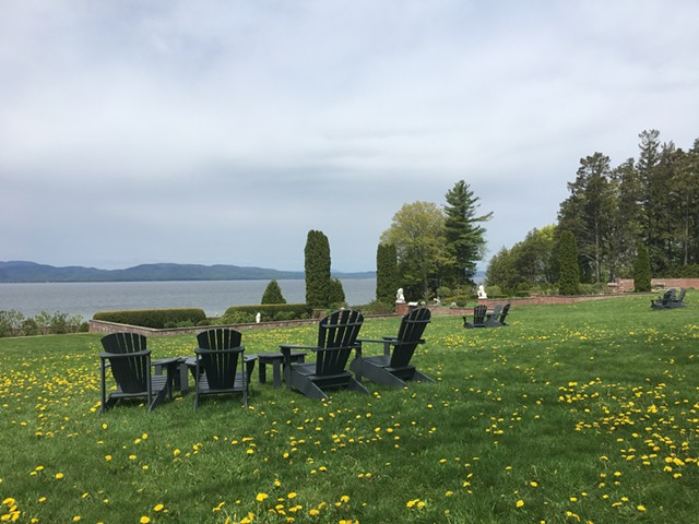 View from the Inn at Shelburne Farms - MELISSA PASANEN