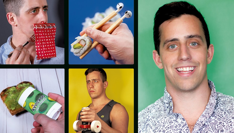 Matt Benedetto and his Unnecessary Inventions - COURTESY IMAGES