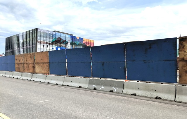 The CityPlace site on Wednesday - COURTNEY LAMDIN