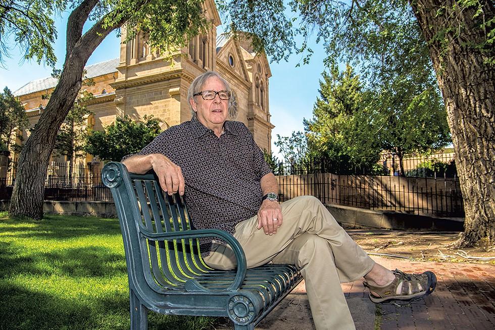 Peter Smith in Santa Fe, N.M. - ANSON STEVENS-BOLLEN
